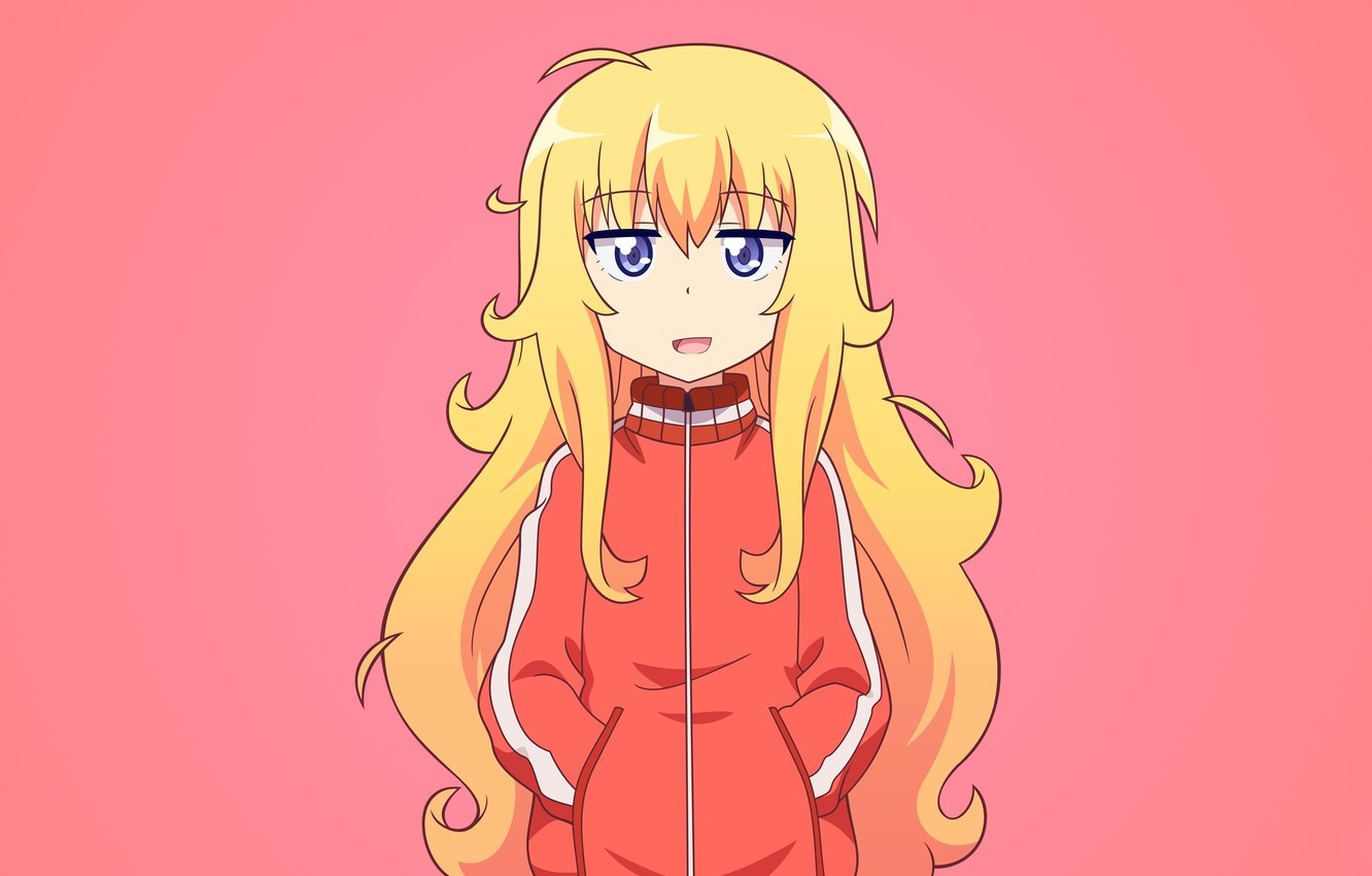 Photo wallpaper anime, angel, blonde, asian, japanese, Gabriel, tenshi, Gabriel DropOut, Tenma Gabriel White
