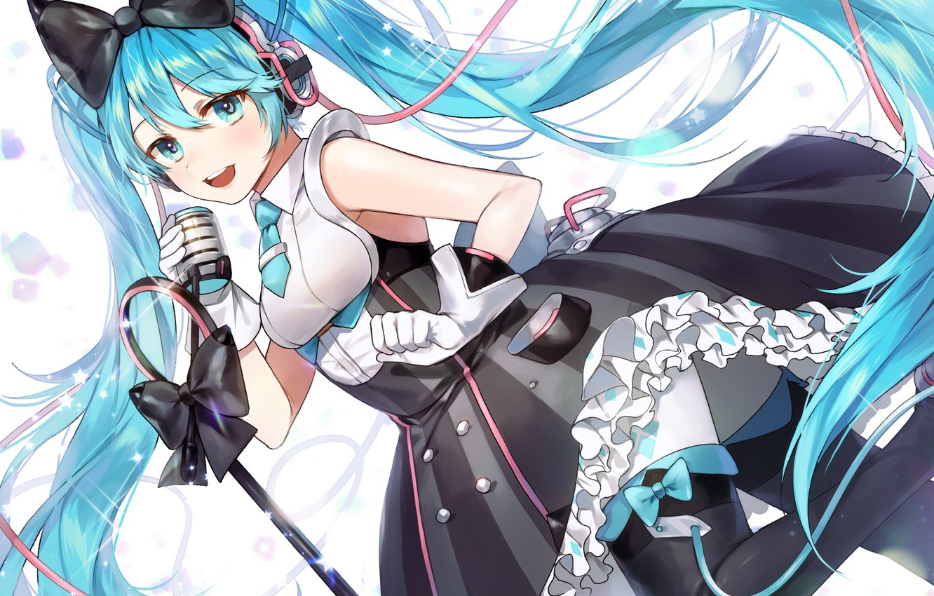 Wallpaper Girl Dress Art Vocaloid Hatsune Miku Images For