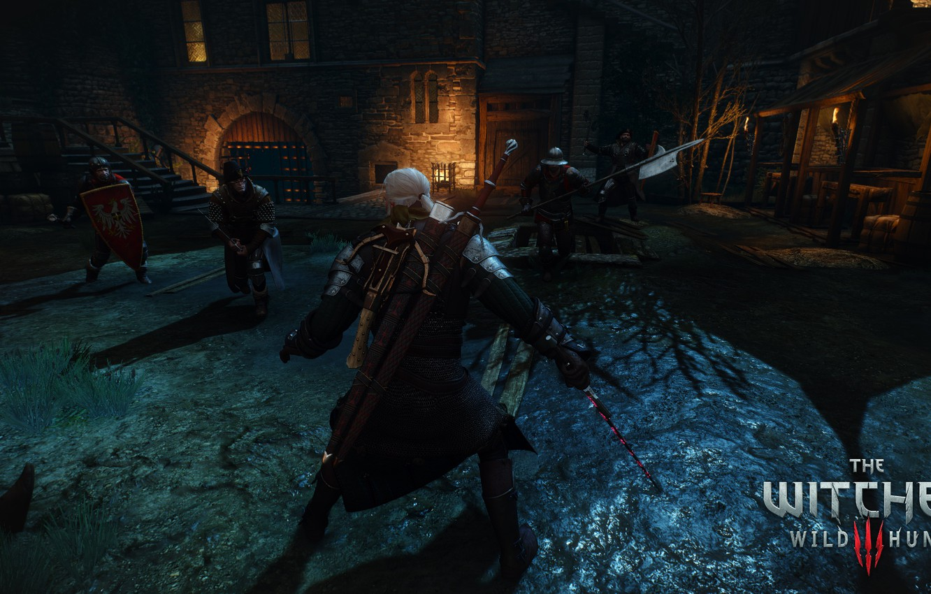 Photo wallpaper the Witcher, Geralt of rivia, the Witcher 3: wild hunt