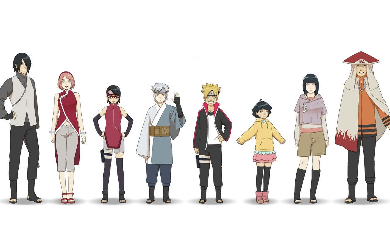 Photo wallpaper Naruto, anime, ninja, asian, manga, shinobi, japanese, oriental, asiatic, Boruto Naruto the Next Generations