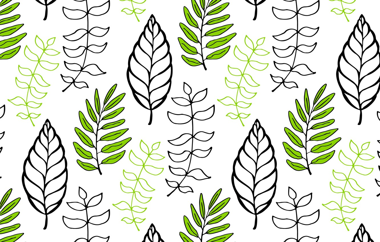 Photo wallpaper Background, Texture, Leaves