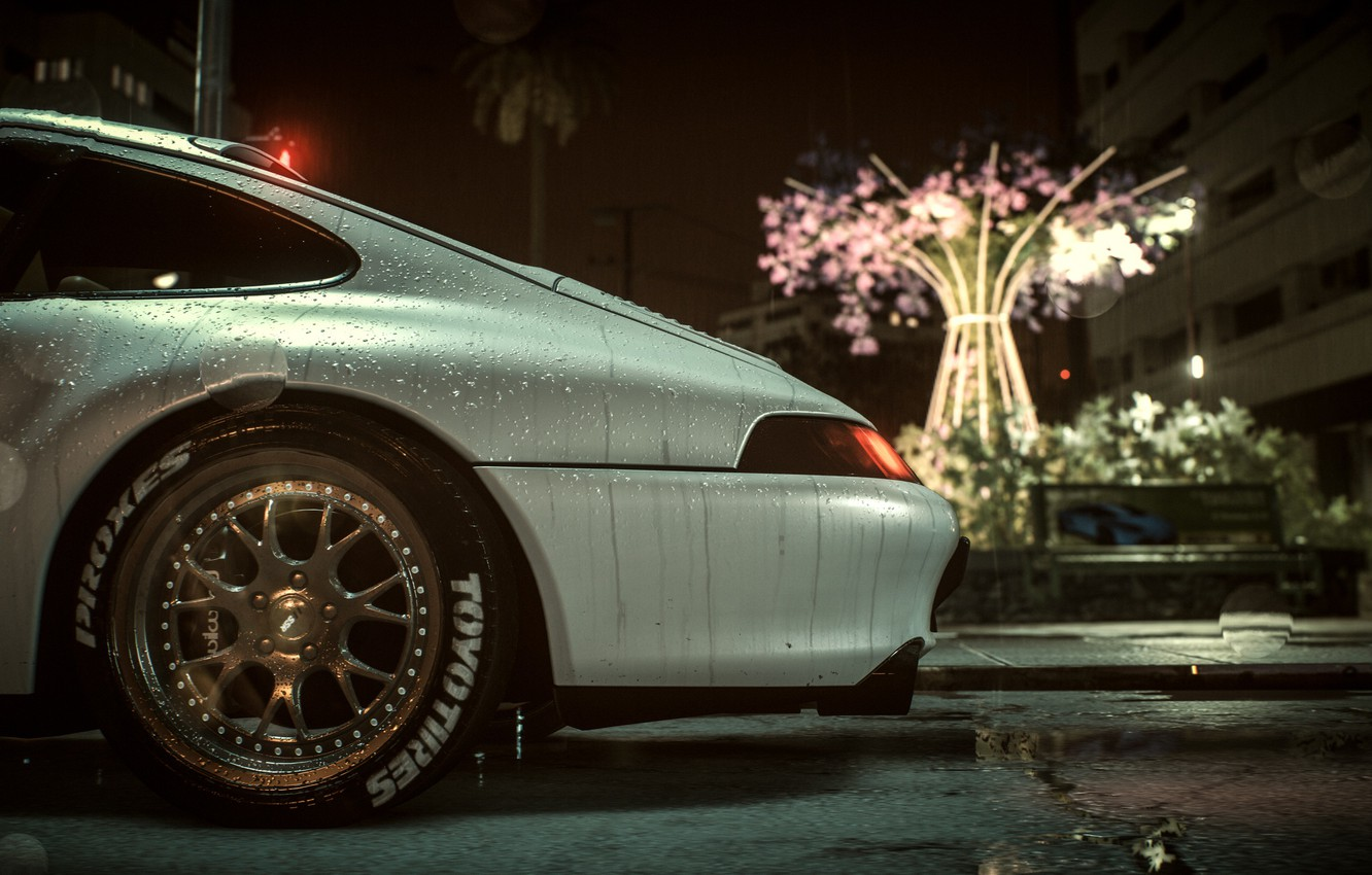 Wallpaper Auto Rain Need For Speed 2016 Images For Desktop