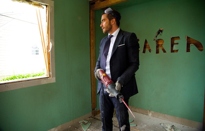 Wallpaper Cinema Jake Gyllenhaal Saw Movie Film Suit
