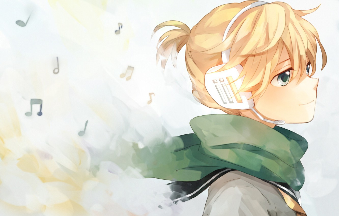 Photo wallpaper anime boy art guy vocaloid vocaloid character