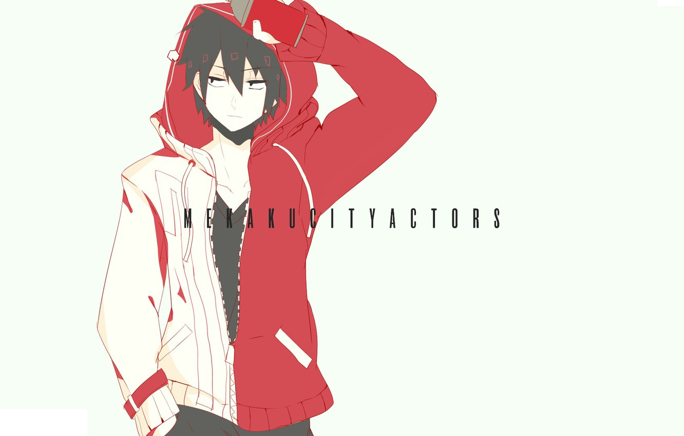 """Photo wallpaper anime, guy, Kagerou Project, The project """"hot Fog"""", Project a Sultry mist"""