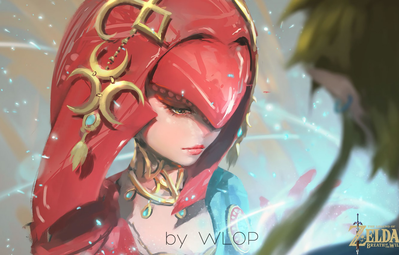 Wallpaper Girl Fantasy Game Magic Painting Digital Art