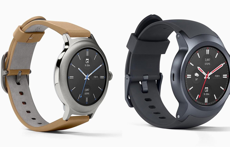 Photo wallpaper watch, MWC 2017, LG Watch Style, LG Watch Sport