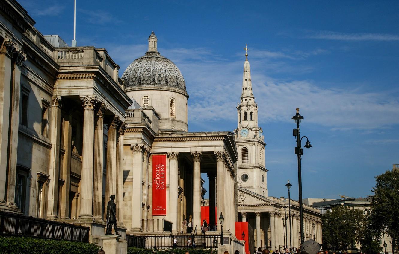 Photo wallpaper city, the city, street, view, England, London, panorama, gallery, Museum, architecture, london, British, photography, UK, …