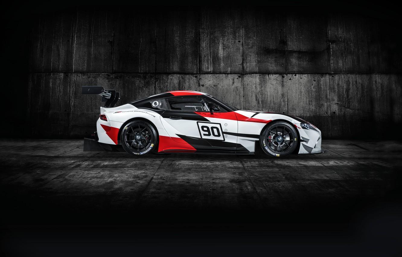 Photo wallpaper profile, Toyota, 2018, racing car, GR Supra Racing Concept