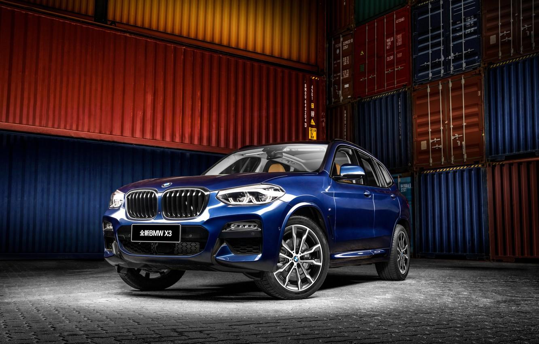 Photo wallpaper BMW, BMW, crossover, X3M, G08