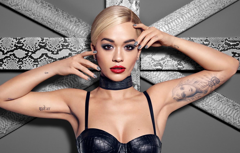 Photo wallpaper portrait, singer, Rita Ora