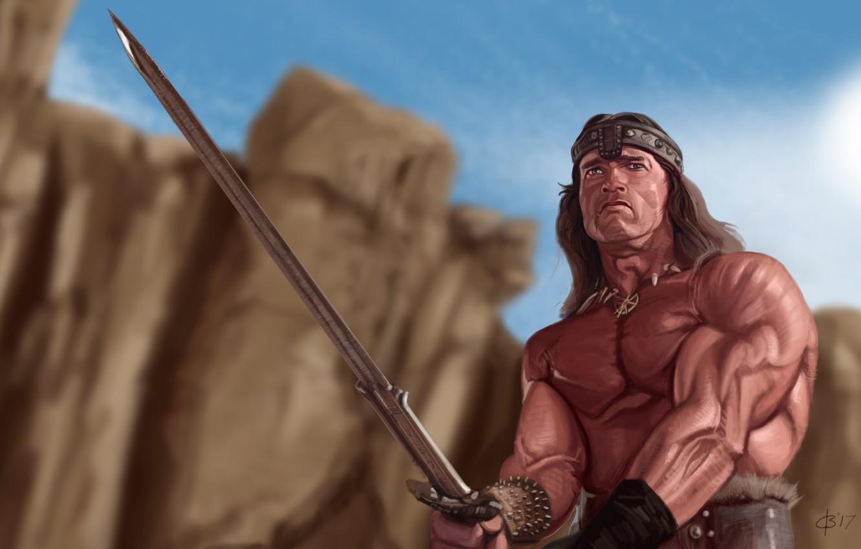 Wallpaper Sword Warrior Conan Conan The Barbarian Images