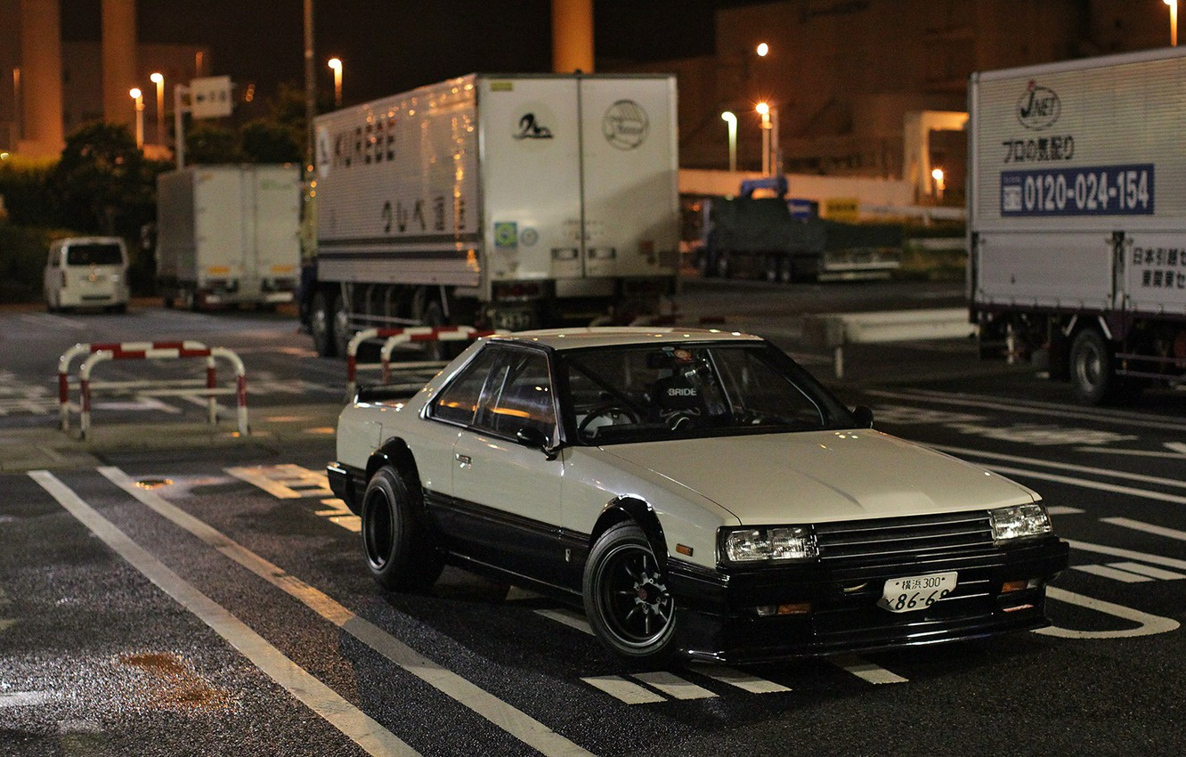 Photo wallpaper Nissan, Coupe, Skyline