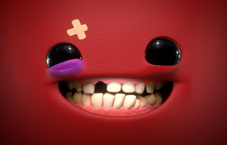 Wallpaper Art Smiley Super Meat Boy Mathieu Maurel Images For Desktop Section Rendering Download