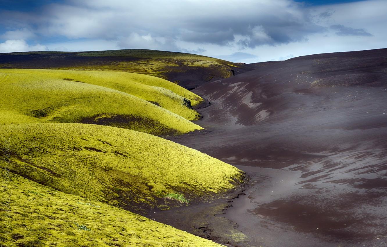 Photo wallpaper nature, Iceland, Vestur-Skaftafellssysla