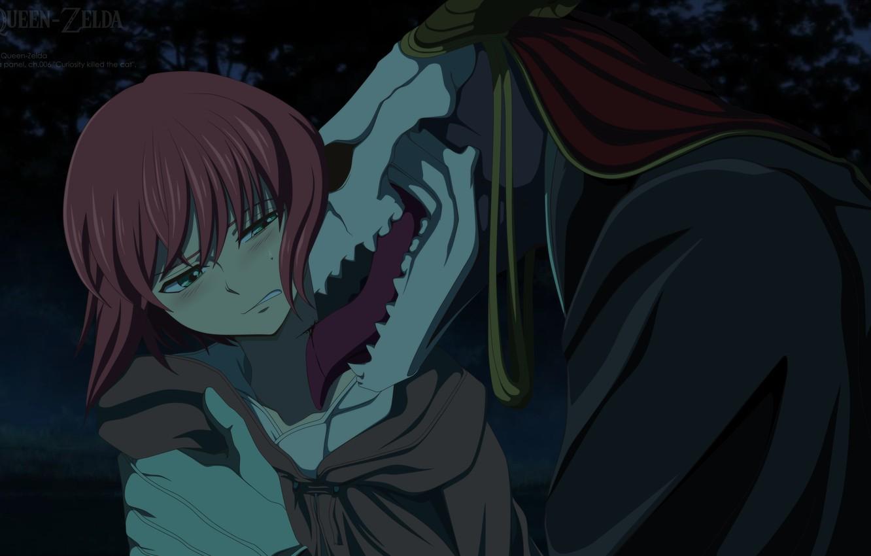 Wallpaper Skull Anime Two Mahou Tsukai No Yome The Ancient Magus