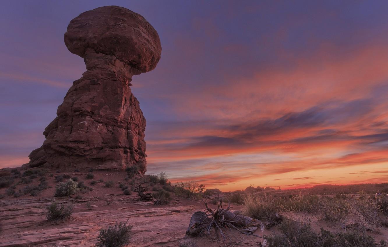 Wallpaper Sunset Desert Rock Images For Desktop Section Pejzazhi Download