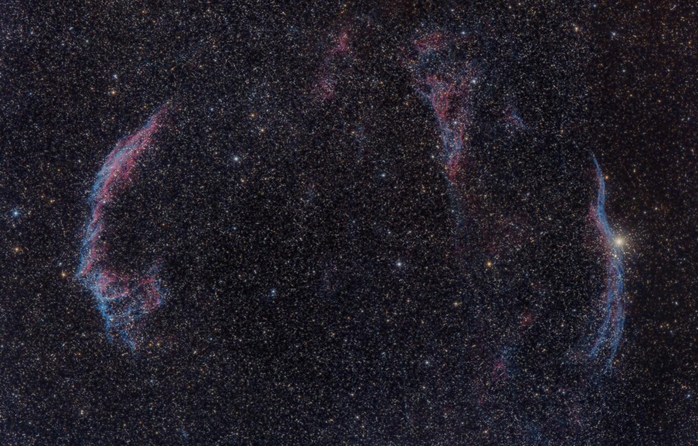 Photo wallpaper space, stars, Nebula, Veil