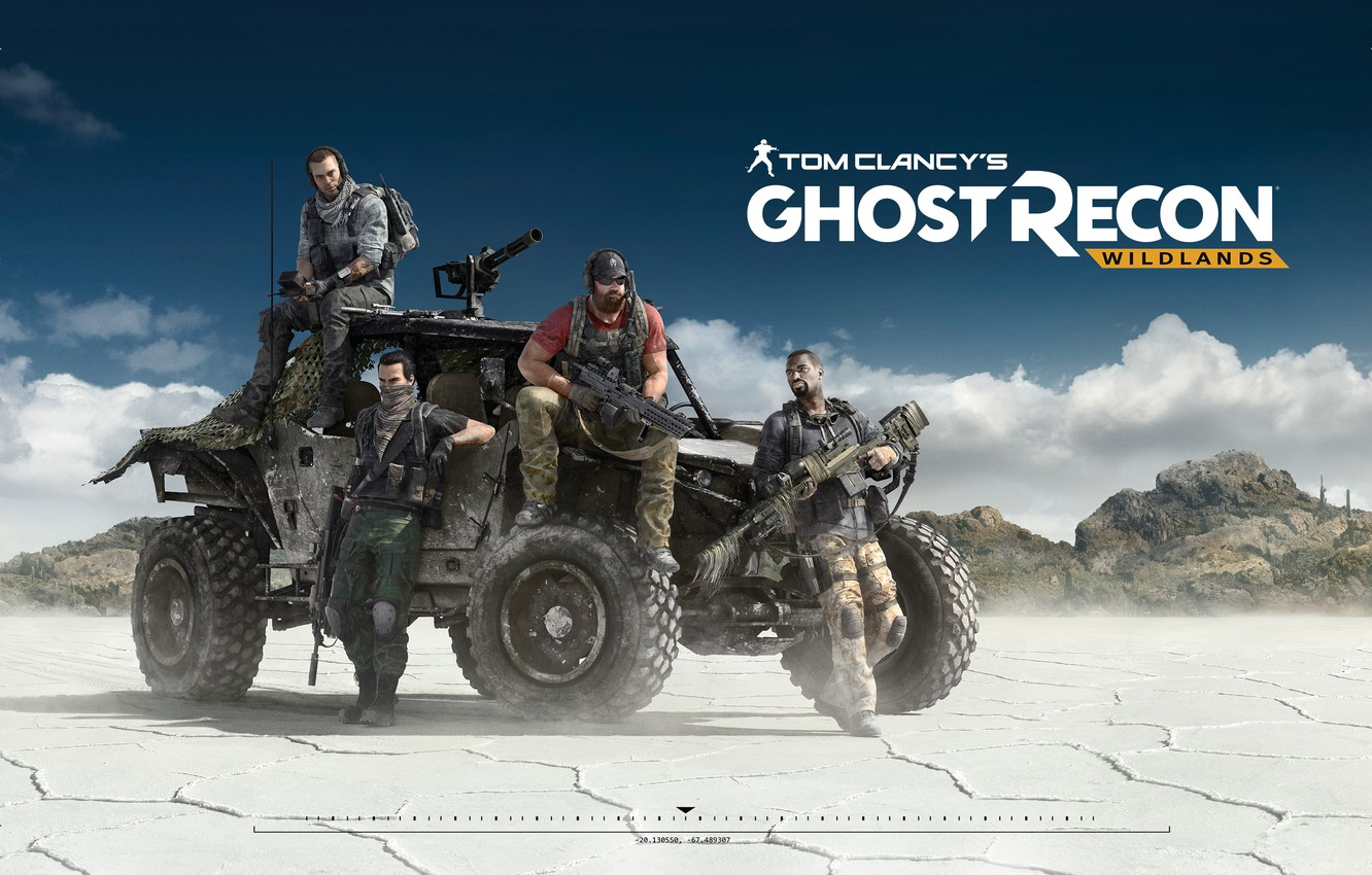 Photo wallpaper ghost recon, ubisoft, bolivia, buggy, ghost recon wildlands, tom clancy's ghost recon wildlands