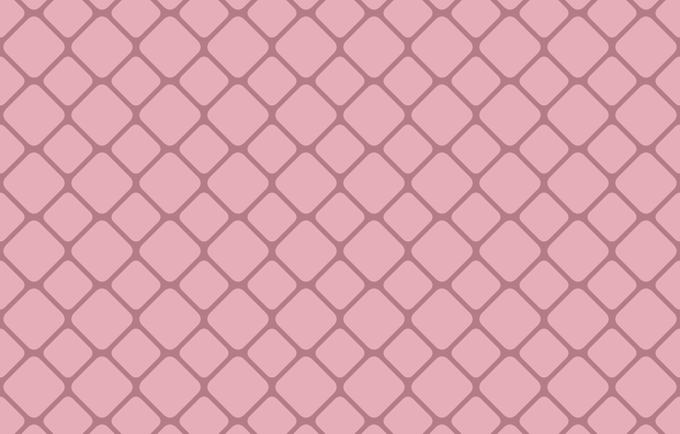 Photo wallpaper abstraction, vector, abstract, design, grid, square, pink, background, pattern, graphic, seamless