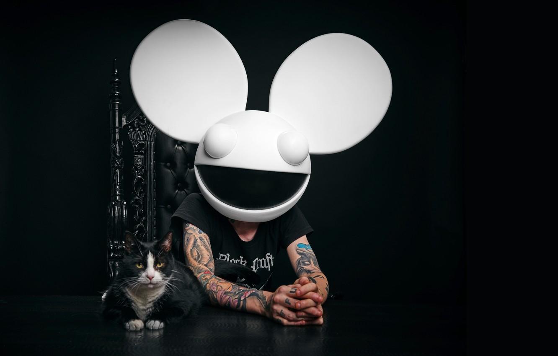 Photo wallpaper tattoo, DJ, Deadmau5, EDM, DJ