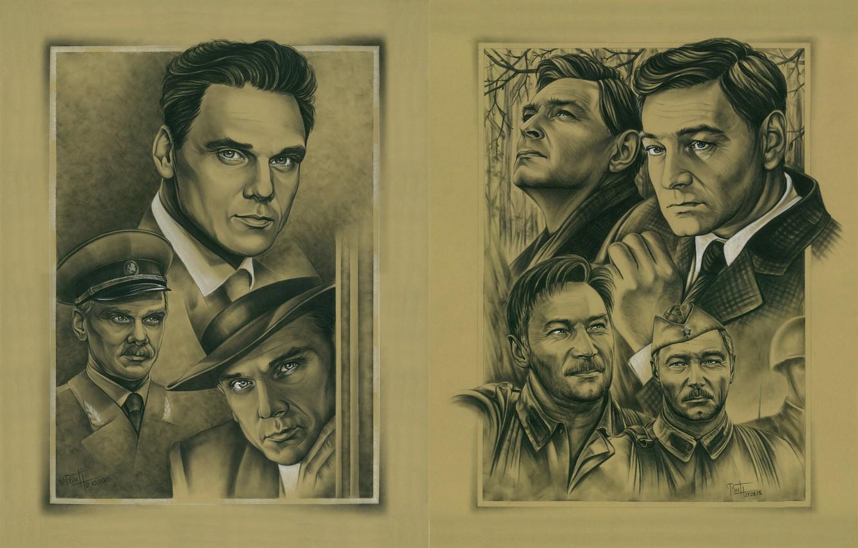Photo wallpaper Graphics, Our movie, Soviet cinema