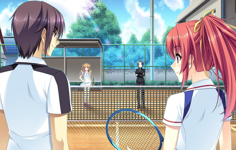 Photo wallpaper girl, sport, the game, anime, art, guy, Mote Sugite Shuraba na Ore