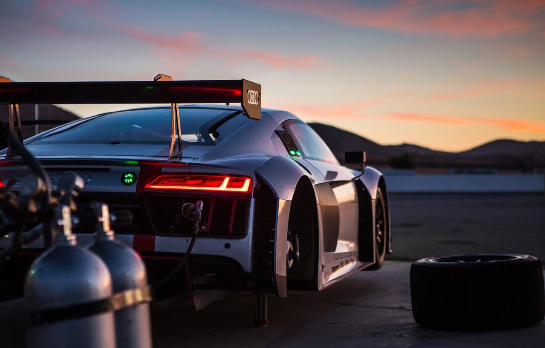 Photo wallpaper sport, Audi R8, racing, Audi R8 LMS
