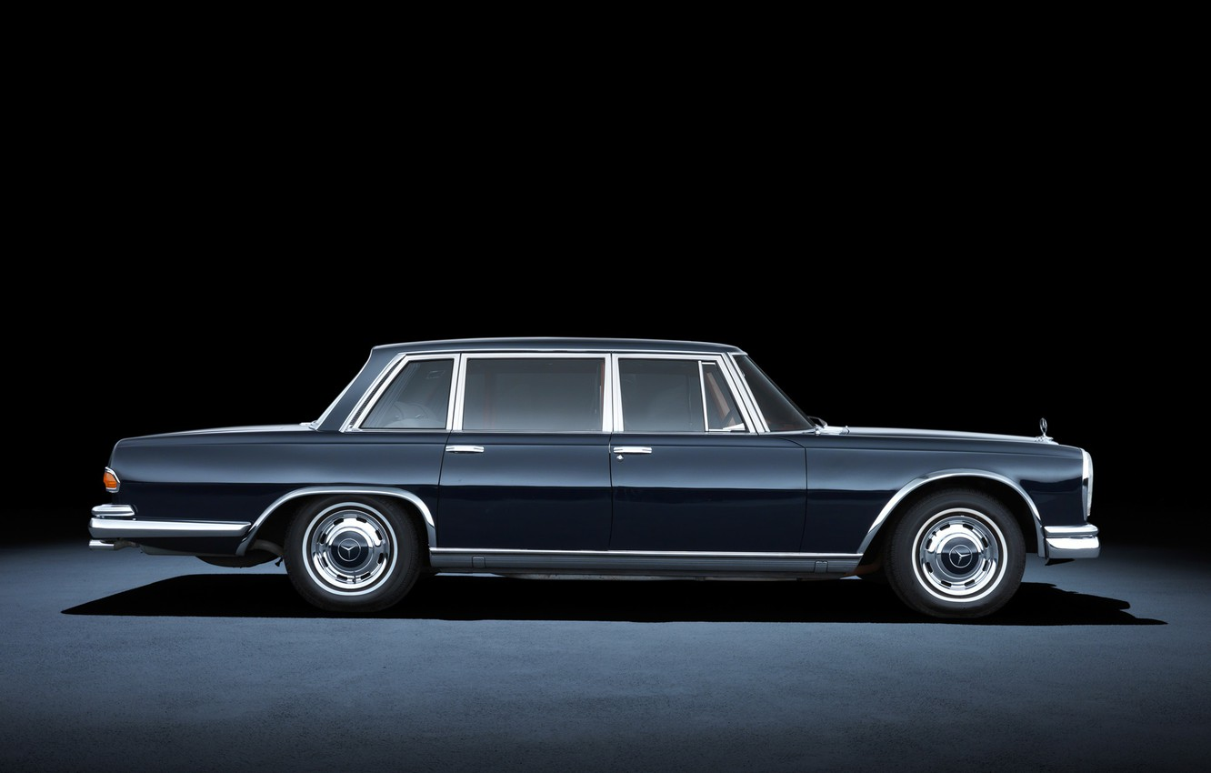 Photo wallpaper mercedes, classics, mb 600 pullman