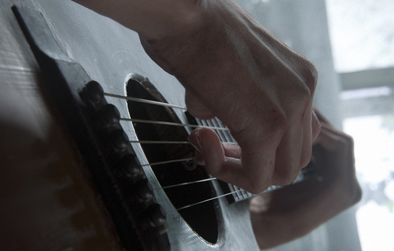 Wallpaper Music Guitar Game Hand The Last Of Us The Last Of