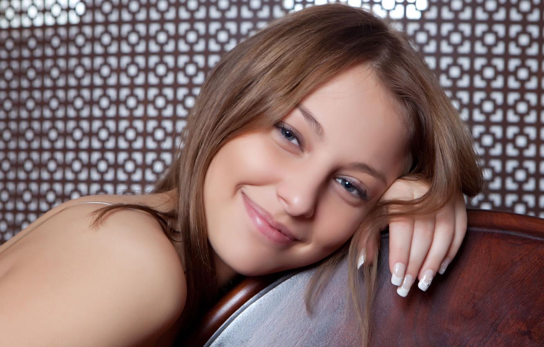Photo wallpaper face, smile, model, Nikia A