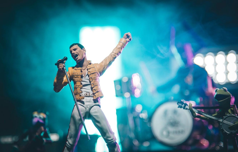Wallpaper Concert Rock Figure Freddie Mercury Images For