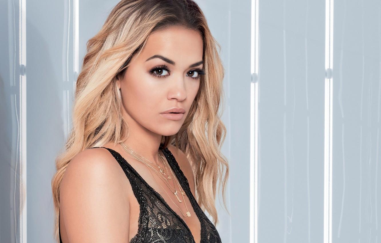 Photo wallpaper underwear, singer, Rita Ora