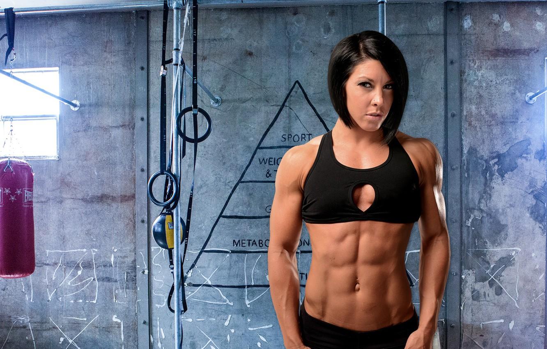 Wallpaper Fitness Brunett Abs Dana Linn Bailey Images For