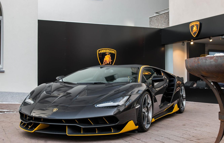 Photo wallpaper Lamborghini, Centennial, LP770-4