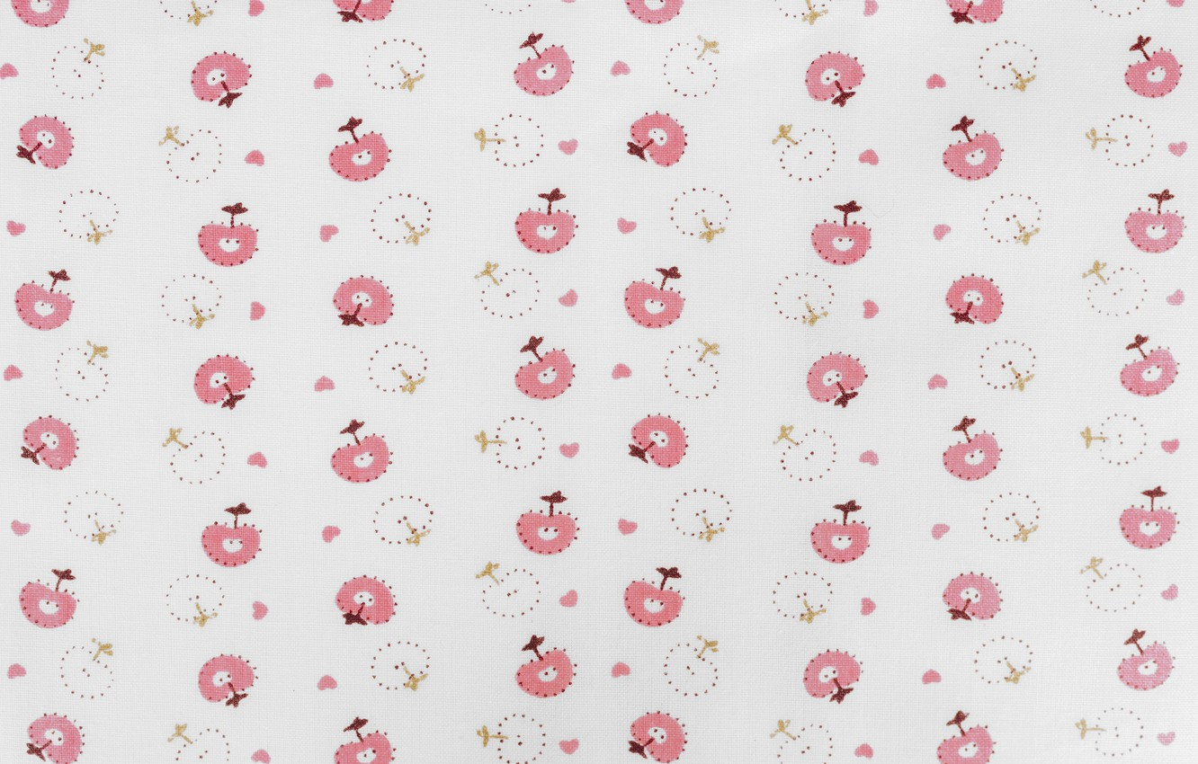 Photo wallpaper colors, white, pink, flowers, background