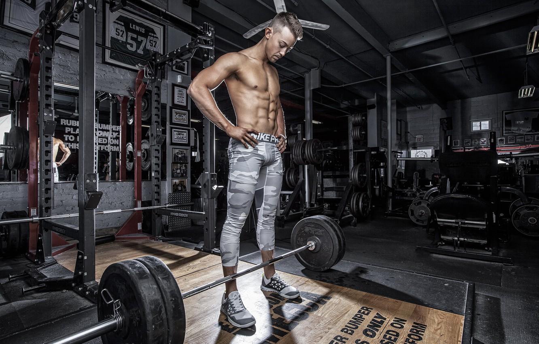 Photo wallpaper pose, gym, bodybuilder, Chad Molyneux