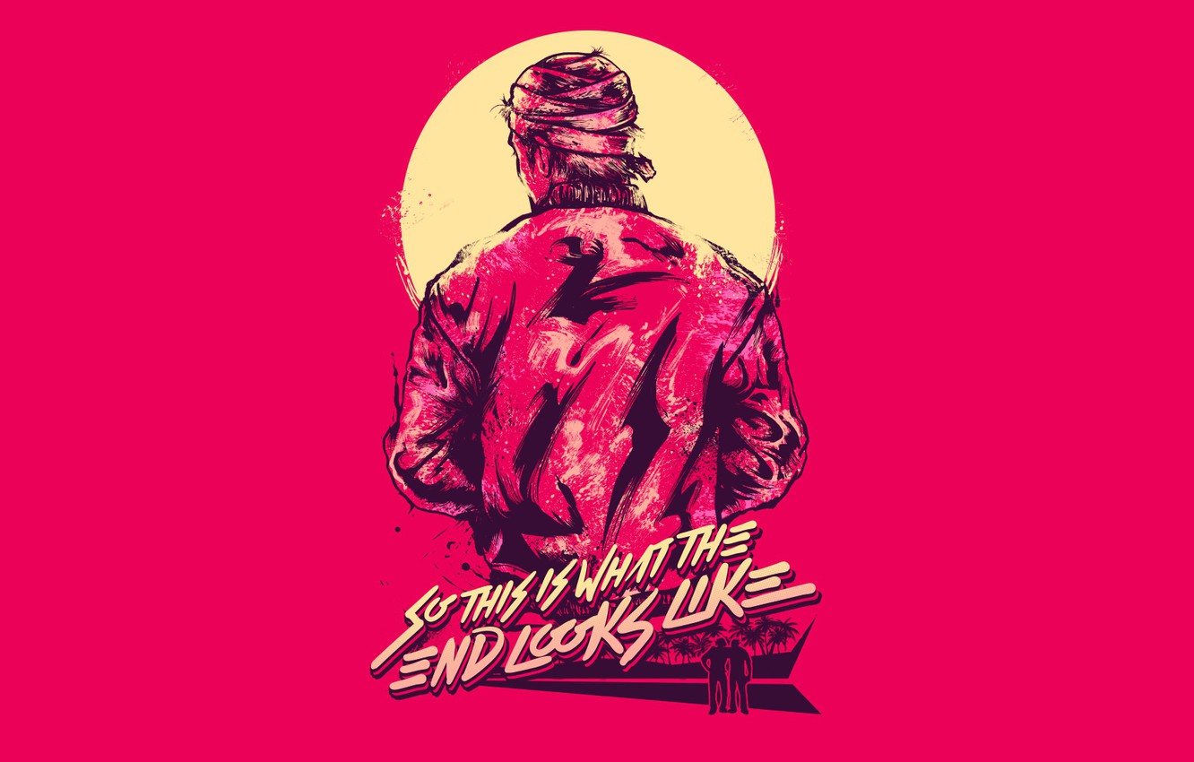 Wallpaper The Game People Background Miami Hotline Miami