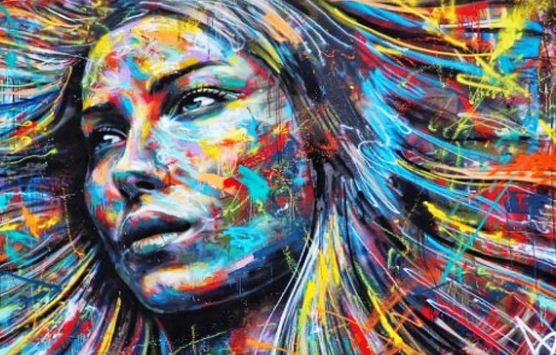 Wallpaper Girl Graffiti Street Art City Images For Desktop