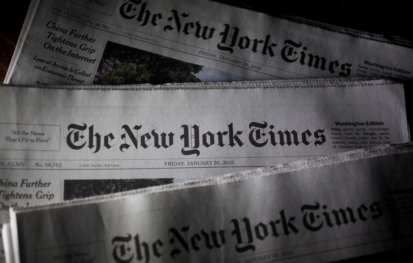 Wallpaper Usa Press New York The New York Times American