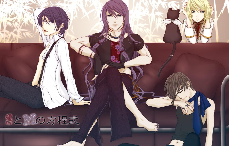 Photo wallpaper anime, guys, Vocaloid, Vocaloid