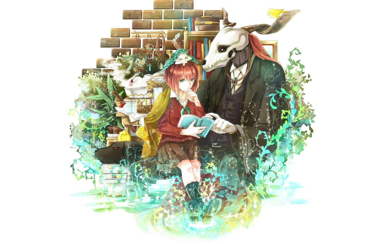 Photo wallpaper romance, anime, art, Mahou Tsukai no Yome, Bride of the sorcerer
