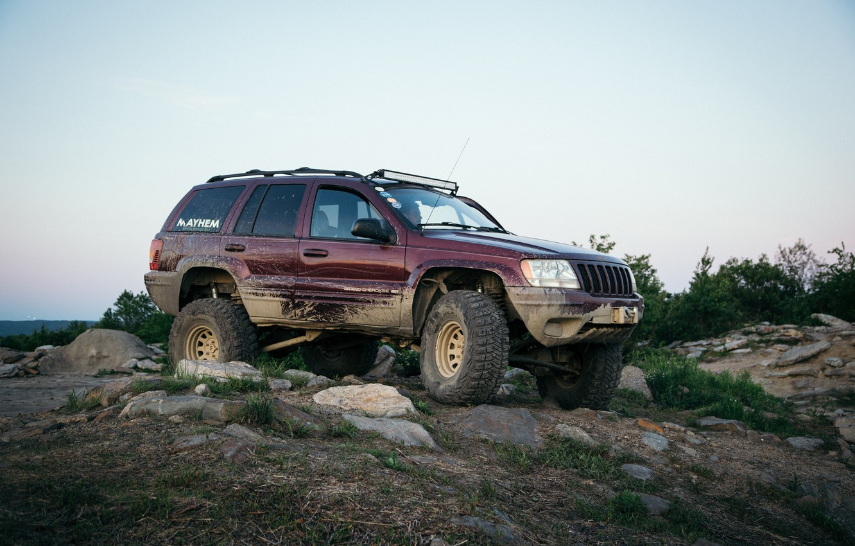 Photo wallpaper SUV, Jeep, Grand Cherokee, Jeep Grand Cherokee