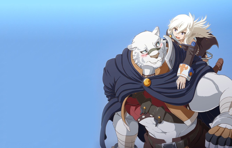 Photo wallpaper tiger, anime, strong, mercenary, novel, light novel, Albus, Zero Kara Hajimeru Mahou No Sho, Grimoire …