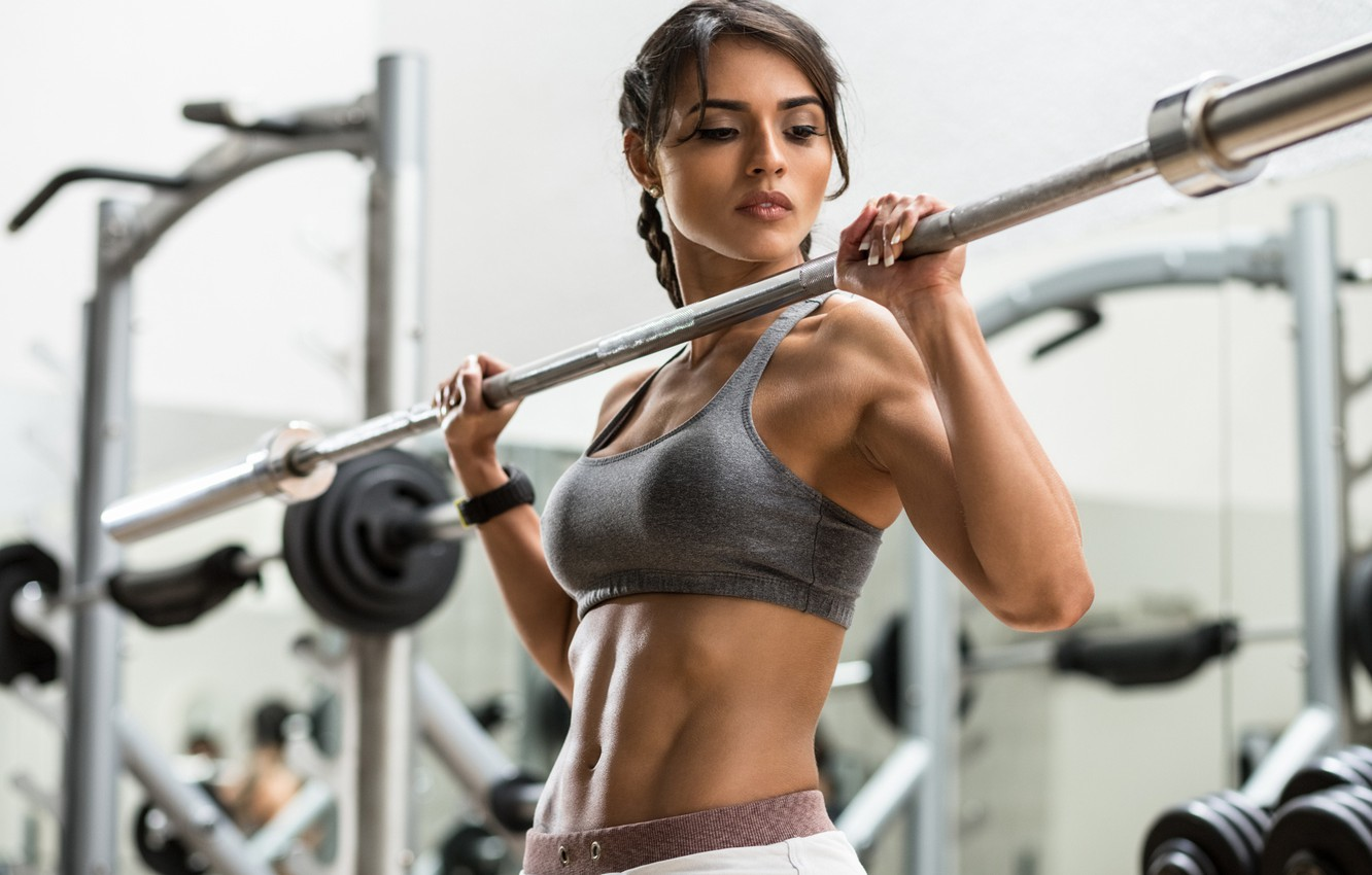 Wallpaper girl, workout, fitness, gym images for desktop, section спорт - download