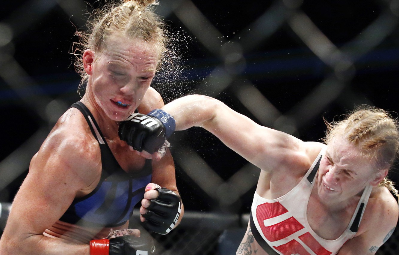 Wallpaper Mma Pain Ufc Female Mixed Martial Arts Sacrifice Technique Stroke Valentina Shevchenko Holly Holm Images For Desktop Section Sport Download
