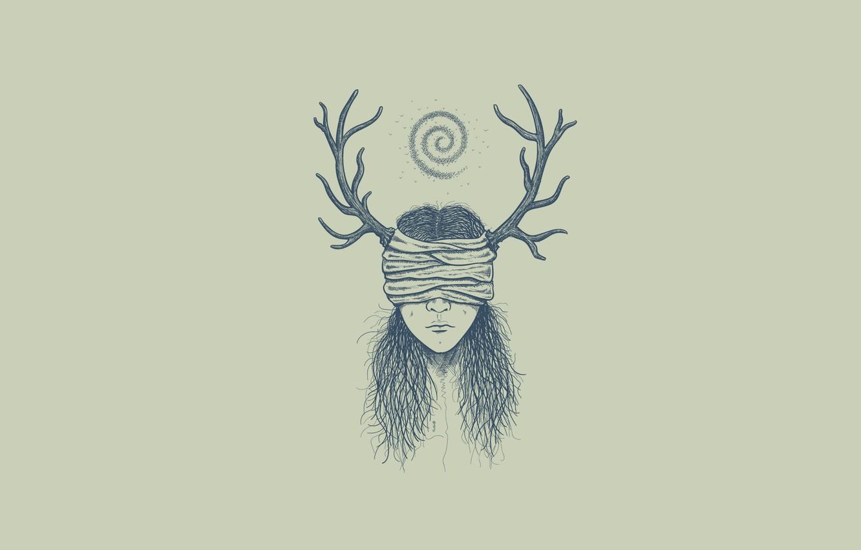 Photo wallpaper girl, life, kill, mood, true detective, fantasi, carcosa