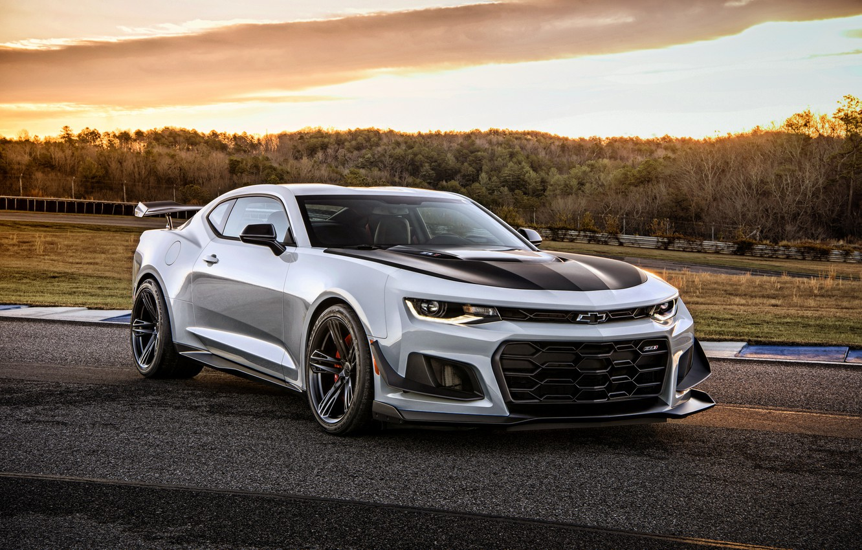 Photo wallpaper Chevrolet, Camaro, Chevrolet, Camaro, ZL1