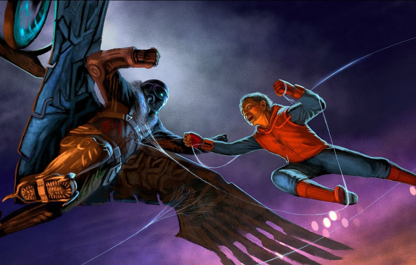 Wallpaper Art, Spider Man, Peter Parker, Vulture, Spider