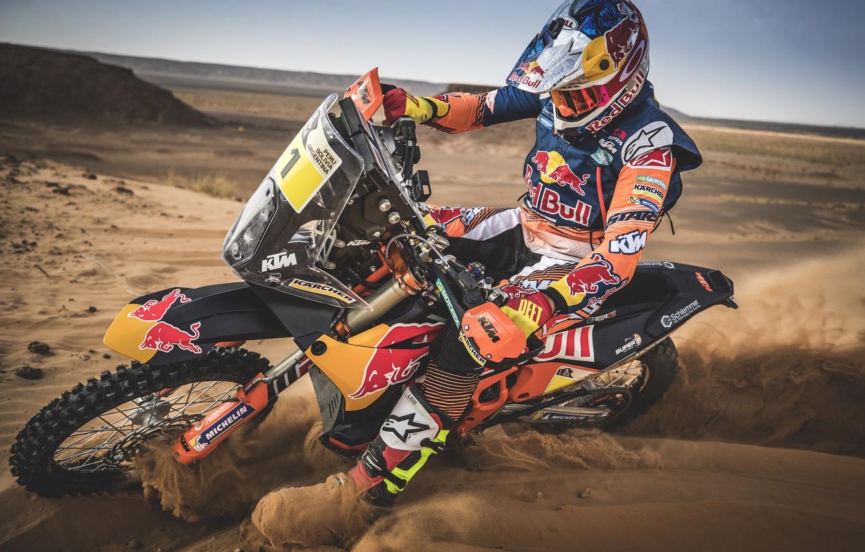 Photo wallpaper Sport, Motorcycle, Racer, Moto, Bike, Rally, Dakar, Dakar, Rally, Moto, RedBull, Motorbike